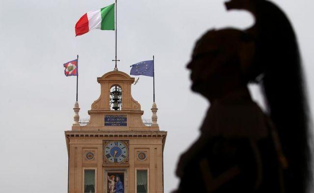 Koalicijska pogajanja v Italiji Foto Reuters