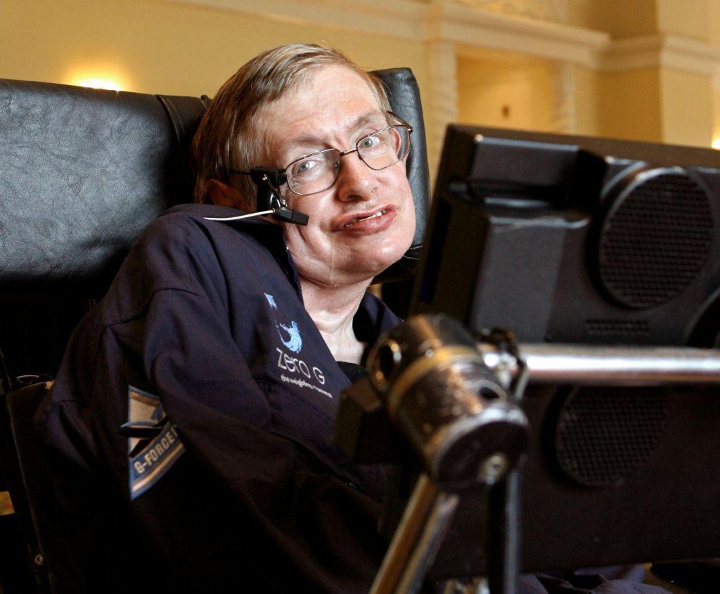 Hawkingove besede bodo odpotovale v vesolje