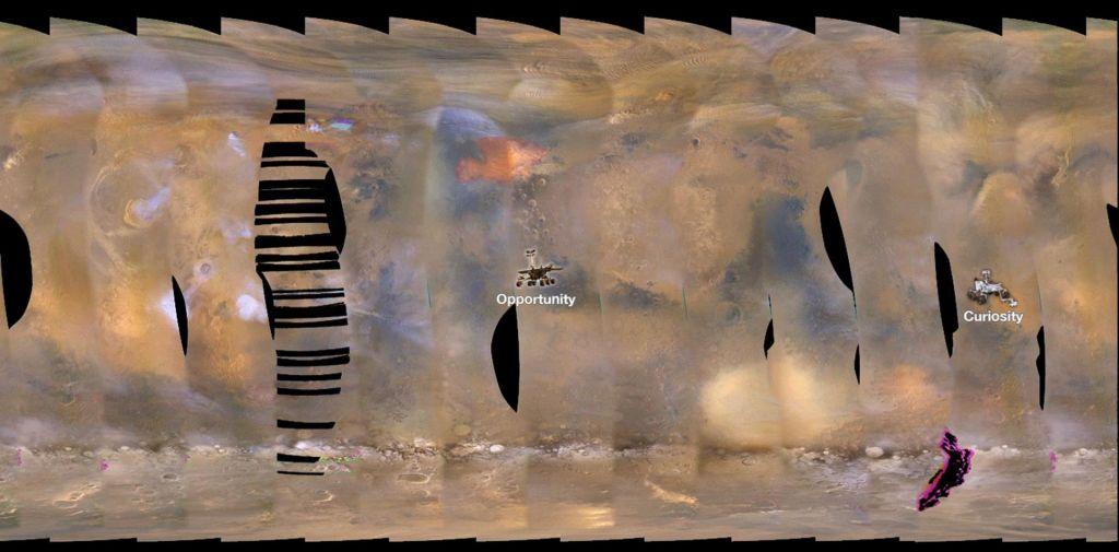 Bo peščeni vihar na Marsu objel celoten planet?