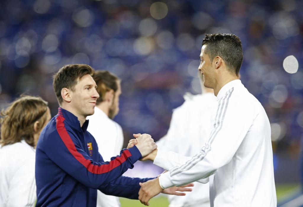 FOTO:Lionel Messi in Cristiano Ronaldo po svetovno krono in zlato žogo (FOTO)