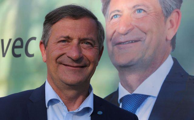 Karel Erjavec ni hotel špekulirati o tem, ali bo stranka sprejela njegov ponujeni odstop. FOTO: Tomi Lombar