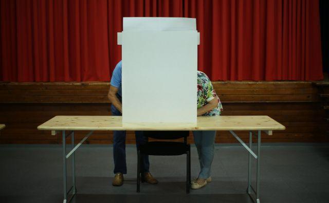 Zavest o pomembnosti volitev z leti raste, kažejo podatki DVK. FOTO: Jure Eržen/Delo
