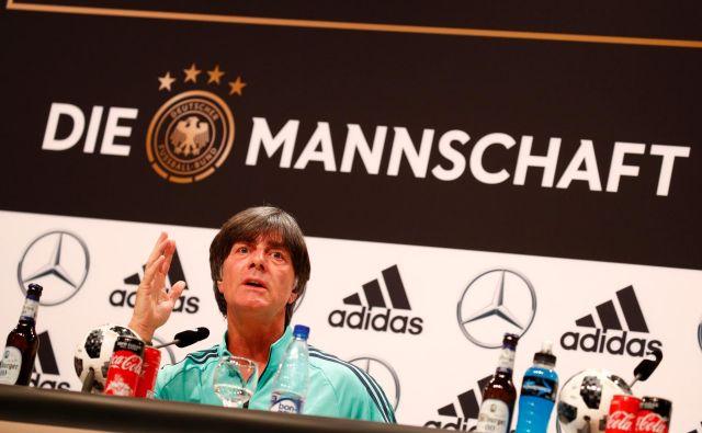 Joachim Löw je prepričan o vrhunski pripravljenosti moštva, ki bo branilo lovoriko.<br /> FOTO: Reuters