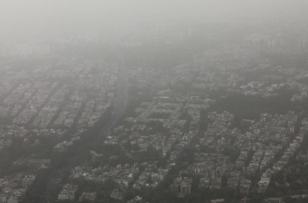 FOTO:Hudo onesnaženje: tak zrak je zdaj v New Delhiju (FOTO)