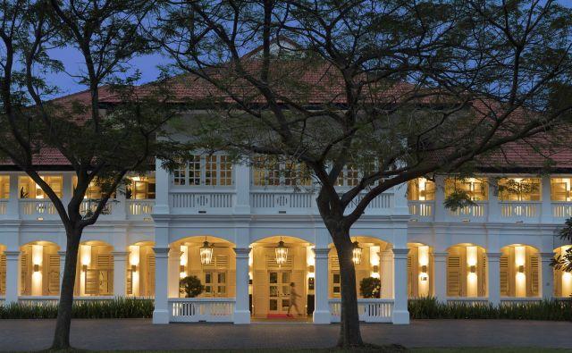 Hotel Capella je utelešenje najbolj dramatične preobrazbe nekdanje britanske kolonije v eno najbogatejših mest na svetu. Foto AP