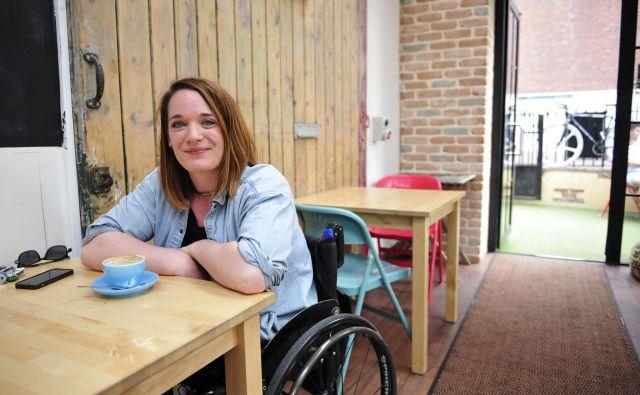 Nobena aplikacija za pomoč gibalno oviranim ni idealna, je ugotovila novinarka Louise Bruton. FOTO: Louise Bruton