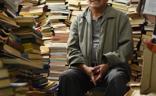 »Največ, kar lahko zapustimo svojim otrokom, je izobrazba,« pravi José Alberto Gutiérrez. FOTO: César Melgarejo/El Tiempo
