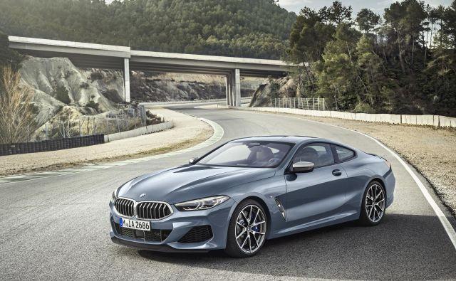 BMW serije 8 - za zdaj še na fotografijah, konec leta tudi na cestah. FOTO: Bmw Ag / Daniel Kraus