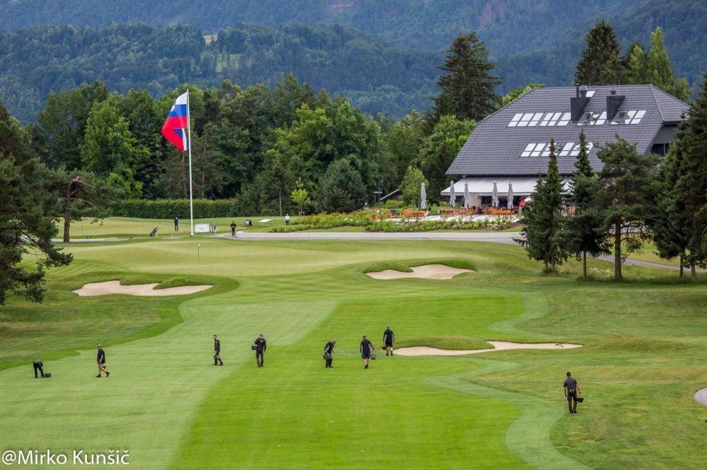 FOTO:Golfsko evropsko prvenstvo na igrišču Royal Bled