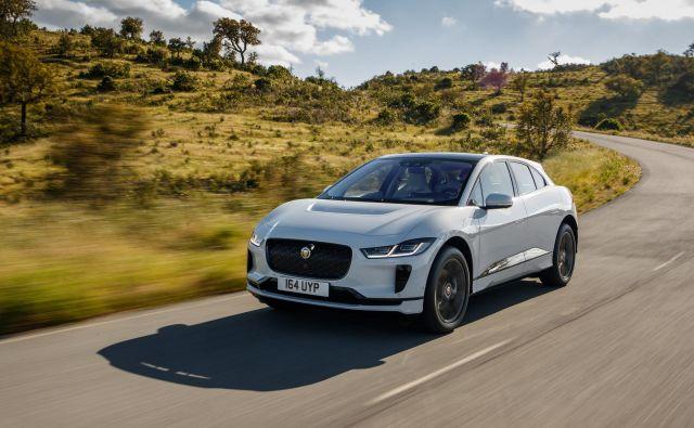 I-pace se imenuje prvi jaguar, ki je bil zasnovan kot popolnoma električni avtomobil in ga odlikujejo velike zmogljivosti. FOTO: Jaguar