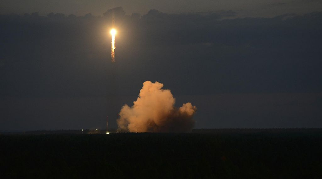 »Nenavaden« prizor na ruskem nebu