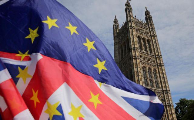 V EU je veliko evroskepticizma, a mnogi v Veliki Britaniji verjamejo, da je brexit napačna pot. FOTO: AFP