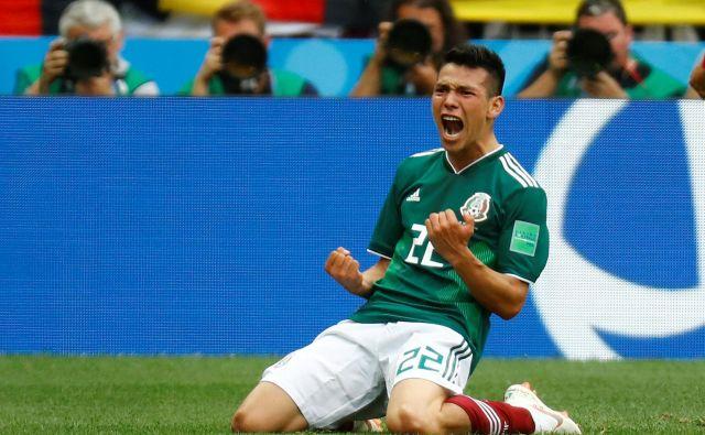 Za Hirvinga Lozana je bil gol proti Nemčiji najpomembnejši doslej. FOTO Reuters