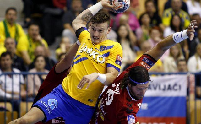 Jaka Malus iz Celja Pivovarne Laško bo tudi v naslednji sezoni igral z najboljšimi v Evropi.