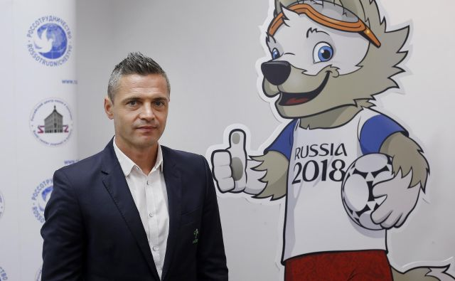 Damir Skomina je že sodil sedem tekem na evropskih prvenstvih, jutri bo dočakal krst tudi na mundialu.