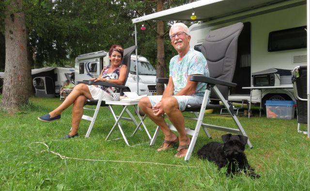 Turisti v Šobcu ostanejo povprečno tri dni, v kampu si želijo, da bi ostali še dan dlje. FOTO: Blaž Račič