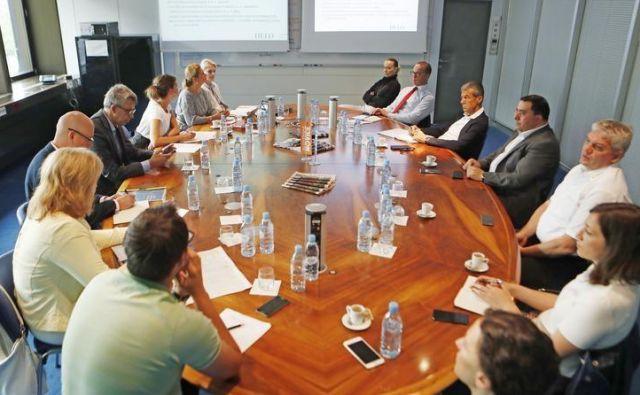Sestanek za Delove podjetniške zvezde. Foto Leon Vidic