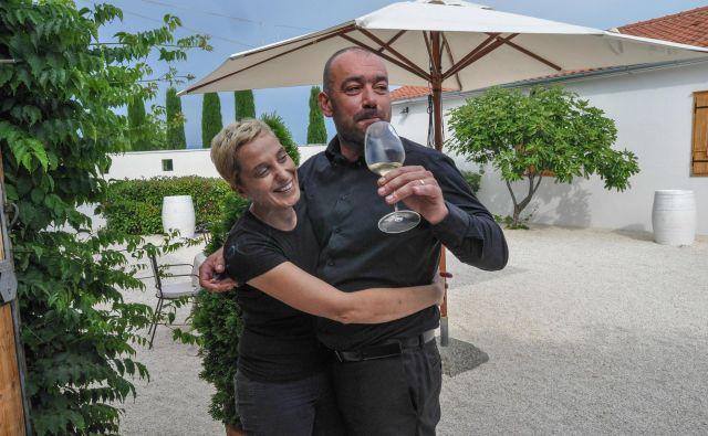 Vesna in Alen Bibić po enaindvajsetih letih. FOTO: Uroš Mencinger