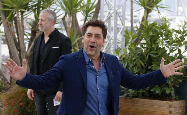 Javier Bardem se jerodil v Las Palmasu na Gran Canarii v igralski družini: dedek,prvi stric režiser, drugi stric, njegovamama in sestra ... vsiigralci. FOTO: Reuters
