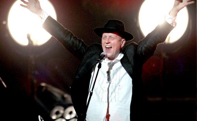 Vlado Kreslin na koncertu v Cankarjevem domu<br /> Foto Roman �ipić