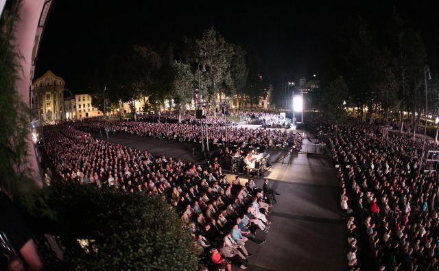 Ljubljanski poletni festival bodo tudi letos odprli na Kongresnem trgu. FOTO:ArhivLjubljana Festivala