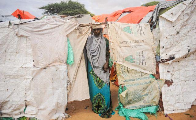 lani je pred nasiljem bežalo od doma skoraj 70 milijonov ljudi, več kot polovica ubežnikov je otrok. FOTO: AFP