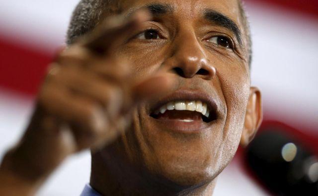 Člani Obamove administracije trdijo, da so le občasno ločili kakšno družino, da to pa to nikakor ni bila politika njegove administracije. FOTO: Jonathan Ernst/Reuters