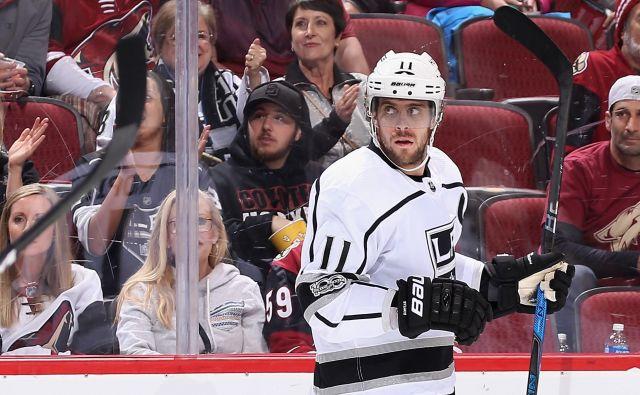 Anže Kopitar je prestal imenitni redni del sezone v NHL.<br /> FOTO: AFP