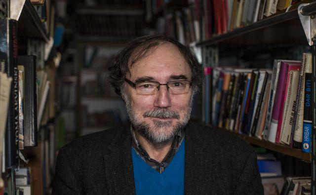 """Boris A. Novak: """"Kot pesnik in kot moški sem se veliko naučil iz ženske rabe jezika."""" FOTO: Voranc Vogel"""