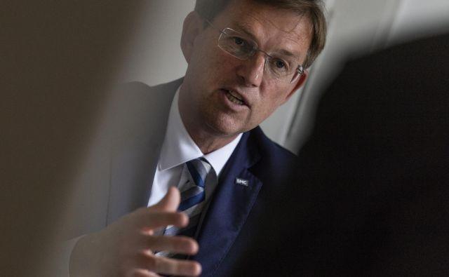 Miro Cerar, predsednik stranke SMC. Voranc Vogel/Delo