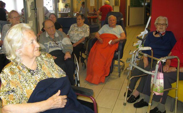 V trboveljskem domu upokojencev so odprli do dementnih prijazno točko. FOTO: Polona Malovrh