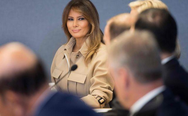 Melania je odločilno vplivala na svojega moža. FOTO: Jim Watson/AFP