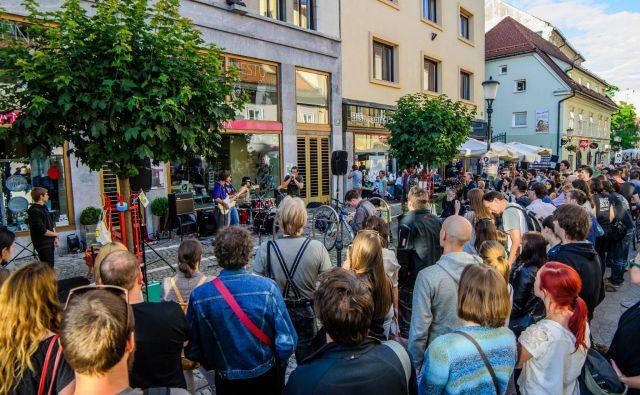 Dan uličnih koncertov<br /> Foto Blaž Lah