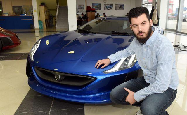 Mate Rimac je večinski lastnik hrvaške družbe. FOTO: AFP
