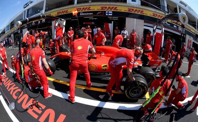 Ferrari ima v Franciji rekordnih 17 zmag, Kimi Räikkönen je bil najboljši leta 2007, ko je bil svetovni prvak.