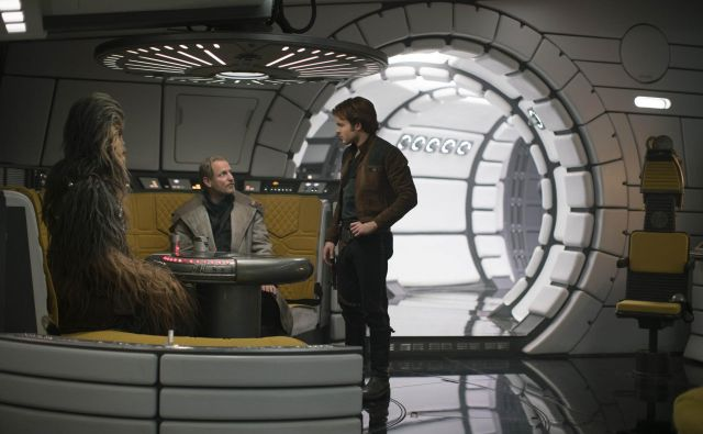 Han Solo postane vesoljski nepridiprav z velikim srcem.<br /> Foto Lucasfilm