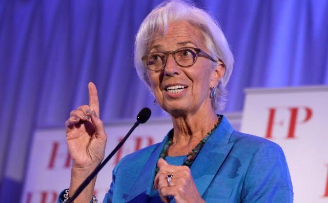 Christine Lagarde FOTO: Reuters/Yuri Gripas