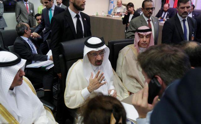 Khalid al-Falih, naftni minister Savdske Arabije, je uspešno zagovarjal predlog o povečanju črpanja nafte. FOTO: Reuters