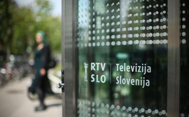 Prijave na razpis za mesto direktorja Televizije Slovenija je potrebno oddati do 23. julija. FOTO: Jure Eržen/Delo