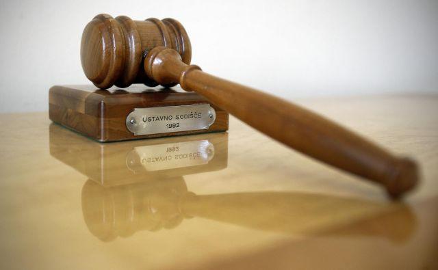 Ustavno sodišče je dokončno zapečatilo afero Turbo anus. Foto Blaž Samec