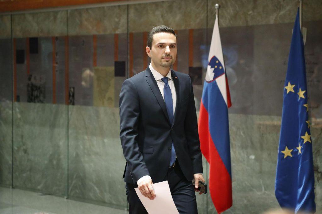 FOTO:Matej Tonin izvoljen za predsednika državnega zbora