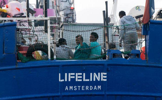 Ladja Lifeline. FOTO: AFP