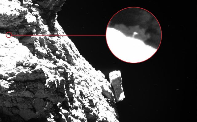 Philae FOTO: ESA/Rosetta/MPS for OSIRIS Team MPS/UPD/LAM/IAA/SSO/INTA/UPM/DASP/IDA