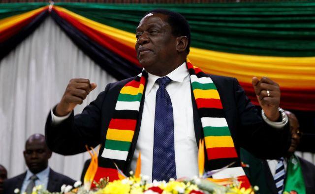 Emmerson MnangagwaFOTO: Reuters