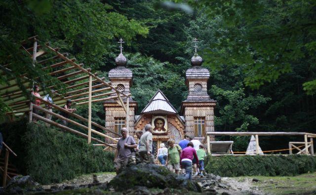 Ruska kapelica na Vršiču. FOTO: Leon Vidic