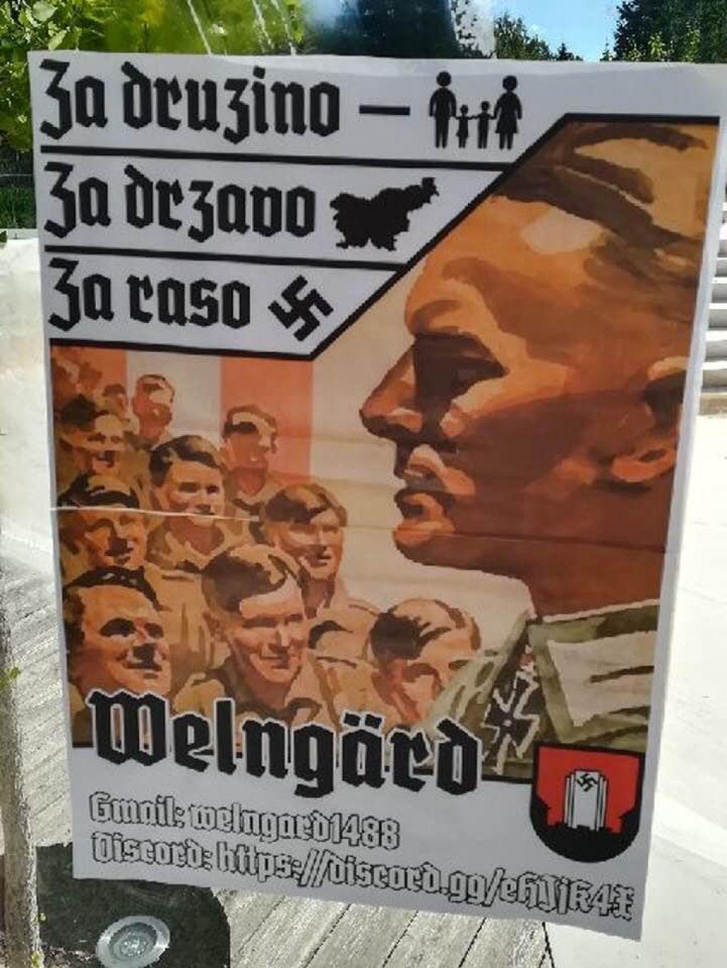 Nacistični plakati v Velenju