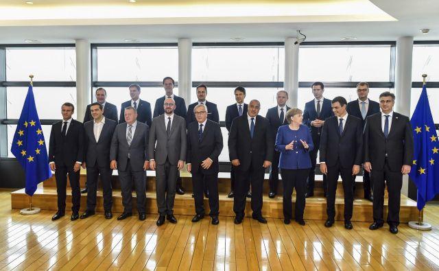 Na vrhu, ki se ga udeležujejo voditelji 16 članic, ni pričakovati preboja. FOTO: Geert Vanden Wijngaert/Ap