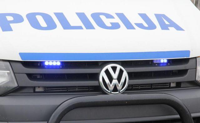 Policija prosi za pomoč pri iskanju storilca. FOTO: Špela Ankele