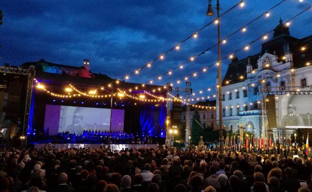 Organizatorjiproslaveso razposlali 3600 vabil. FOTO: Blaž Samec/Delo