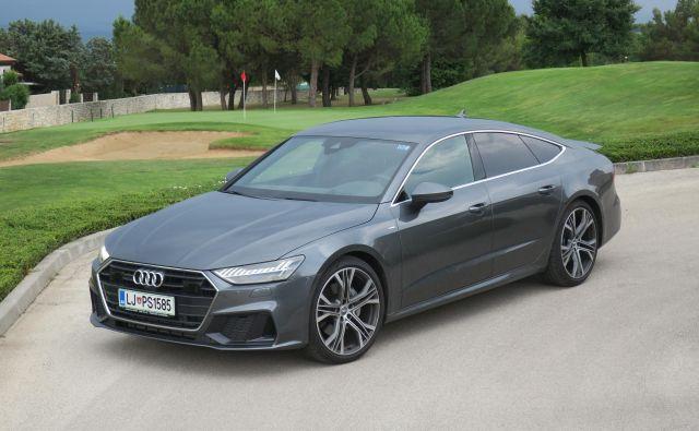 Audi A7 nove generacije je prestižni gran turismo, ki najbolj navduši na daljših potovanjih. FOTO: Bruno Kuzmin
